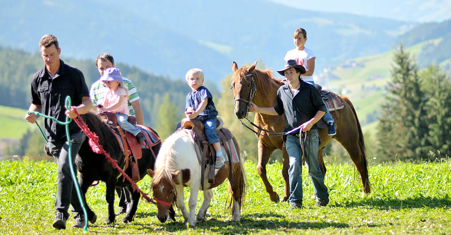 Kinderferien am Bauernhof Südtirol