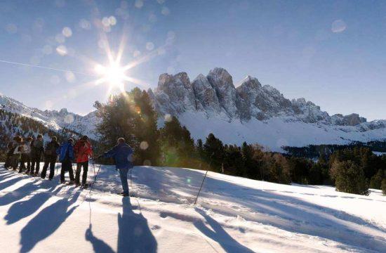 Skiurlaub Villnöss - Südtirol