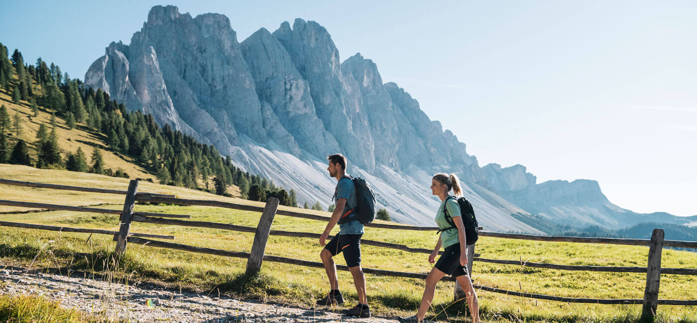 Wandern im Villnösstal – Sommerurlaub in den Dolomiten